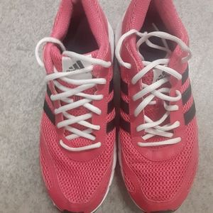 Adidas women's pink sneakers 10